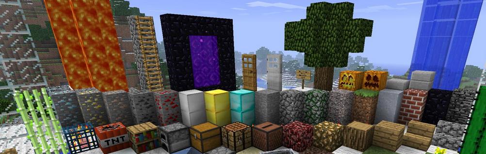 nové bloky a itemy